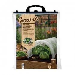 Grow-it Groeitunnel met insectengaas 3,1x0,5 mtr