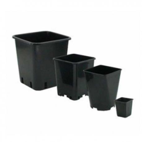Pot vierkant PP 14 Liter 10 stuks