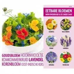 Complete kweekset eetbare bloemen