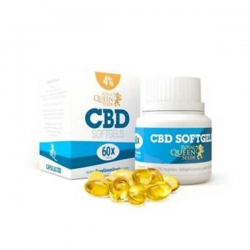CBD Oil Softgel Capsules 4%, 60 stuks