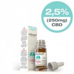 Cibdol 2,5% CBD olie 10ml