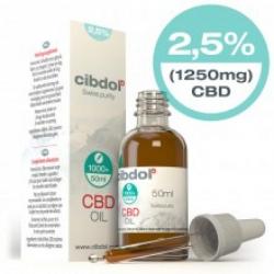 Cibdol 2,5% CBD olie 30ml