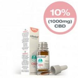 Cibdol 10% CBD oil 10ml