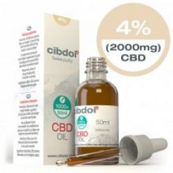 Cibdol 4% CBD olie 50ml