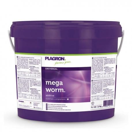 Plagron wormenmest 5 liter Megaworm