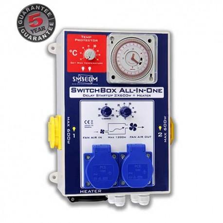 SMS Com Switchbox all-in-one 2 aansluitingen max 1,2 kW