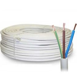 VOI-VMVL kabel wit 3x1,5 100 meter kema gekeurd