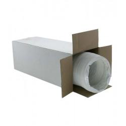 PVC wit dec 203 mm Luchtslang 15 meter